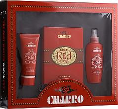 Parfums et Produits cosmétiques El Charro Red - Set (eau de parfum/100ml + crème corporelle/100ml + déodorant/100ml)