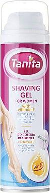 Gel de rasage à la vitamine E - Tanita Body Care Shave Gel For Woman
