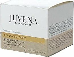 Crème de nuit à l'extrait de feuilles d'olivier - Juvena Rejuvenate & Correct Nourishing Night Cream — Photo N2
