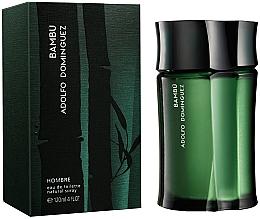 Parfums et Produits cosmétiques Adolfo Dominguez Bambu - Eau de Toilette
