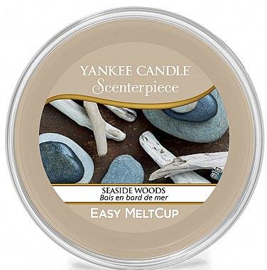 Coupelle en plastique avec cire parfumée - Yankee Candle Seaside Woods Melt Cup