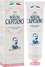 Parfums et Produits cosmétiques Dentifrice pour dents sensibles - Pasta Del Capitano Premium Collection Sensitive Toothpaste
