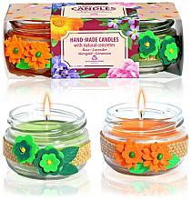 Parfums et Produits cosmétiques Set de bougies d'aromathérapie - Bulgarian Rose Candle Set