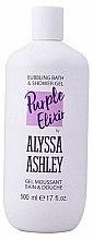 Parfums et Produits cosmétiques Gel moussant bain et douche - Alyssa Ashley Purple Elixir