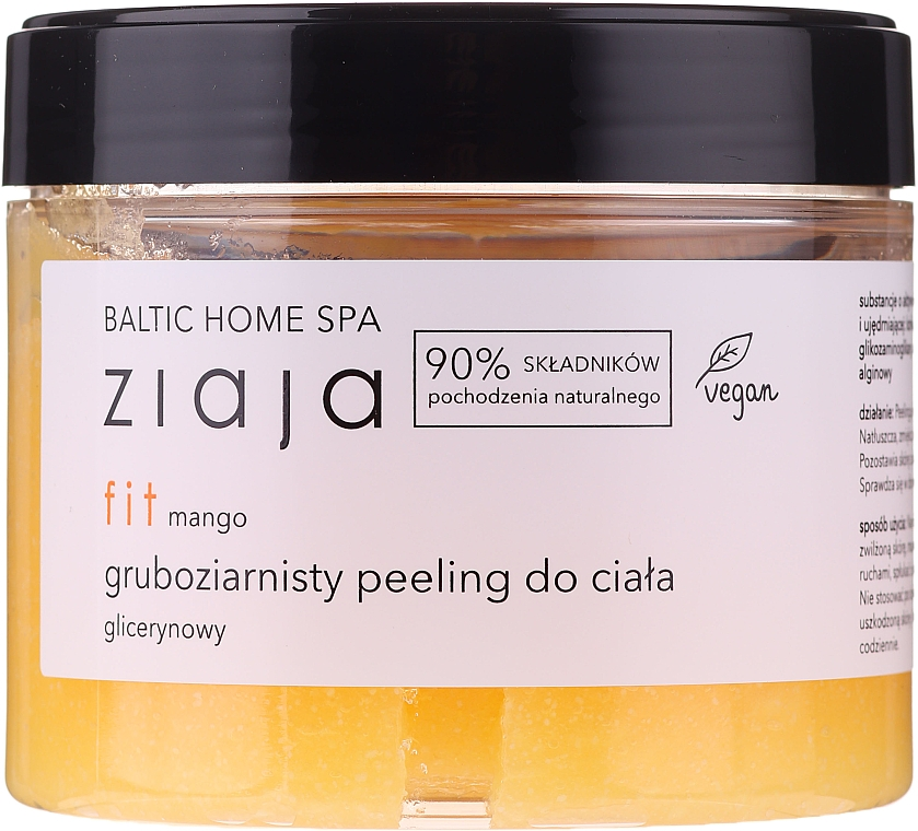 Gommage pour corps, Mangue - Ziaja Baltic Home SPA Body Peeling
