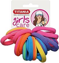 Parfums et Produits cosmétiques Élastiques à cheveux, 16 pcs, multicolore - Titania Girls Care