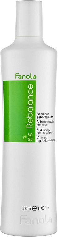 Shampooing aux protéines de blé - Fanola Rebalance Anti-Grease Shampoo
