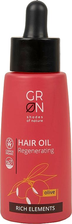 Huile à l'huile d'olive pour cheveux - GRN Rich Elements Olive Hair Oil — Photo N1