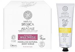 Parfums et Produits cosmétiques Natura Siberica Alladale - Set (gommage pour corps/370ml + crème pour mains/75ml)