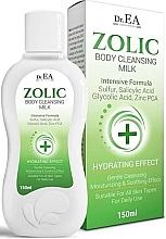 Parfums et Produits cosmétiques Lait nettoyant à l'acide salicylique pour corps - Dr.EA Zolic Body Cleansing Milk