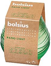 Parfums et Produits cosmétiques Bougie parfumée Patiolicht, 94/91 mm, vert - Bolsius