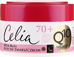 Parfums et Produits cosmétiques Crème de jour et nuit à la coenzyme Q10 et vitamines - Celia Q10 Face Cream 70+