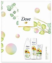 Parfums et Produits cosmétiques Coffret cadeau - Dove Revitalising Set (sh/gel/250ml + b/balm/250ml + h/cream/75ml)