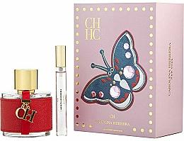 Parfums et Produits cosmétiques Carolina Herrera CH - Coffret (eau de toilette/100ml + eau de toilette mini/10ml)
