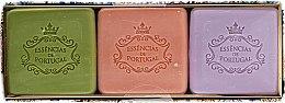 Parfums et Produits cosmétiques Essencias De Portugal Aromas Collection Autumn Set - (savon/3x80g)