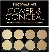 Parfums et Produits cosmétiques Palette de correcteurs - Makeup Revolution Ultra Cover and Conceal Palette