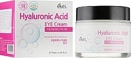 Parfums et Produits cosmétiques Crème à l'acide hyaluronique contour des yeux - Ekel Hyaluronic Acid Eye Cream