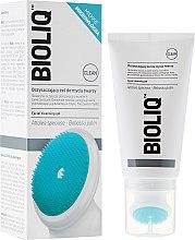 Parfums et Produits cosmétiques Gel nettoyant avec brosse à l'huile de babassu pour visage - Bioliq Clean Cleansing Gel