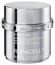 Parfums et Produits cosmétiques Crème à l'huile de jojoba pour visage, peaux normales - Klapp Repacell 24H Antiage Luxurious Cream Normal