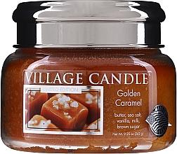 Parfums et Produits cosmétiques Bougie parfumée en jarre Caramel doré - Village Candle Gold Caramel