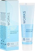 Parfums et Produits cosmétiques Crème dépilatoire pour corps - Avon Works Body Hair Removal Cream