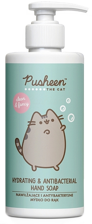 Savon liquide pour mains - Pusheen Hydrating & Antibacterial Hand Soap — Photo N1