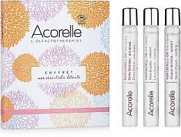 Parfums et Produits cosmétiques Acorelle Mes Essentiels Detente - Coffret (parfum/3x10ml)