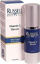 Parfums et Produits cosmétiques Sérum à la vitamine C pour visage - Russell Organics Vitamin C Serum