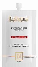 Parfums et Produits cosmétiques Crème de nuit à l'extrait de caviar (mini) - BioDermic Caviar Extract Night Cream