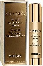 Parfums et Produits cosmétiques Soin de nuit aux extraits d'açaï et de soja pour le contour des yeux - Sisley Supremya At Night The Supreme Anti-Aging Skin Care