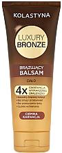Parfums et Produits cosmétiques Baume auto-bronzant pour peau foncée - Kolastyna Luxury Bronze Tanning Balm