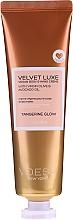 Parfums et Produits cosmétiques Crème végane à l'huile d'olive pour mains et corps - Voesh Velvet Luxe Tangerine Glow Vegan Body&Hand Creme