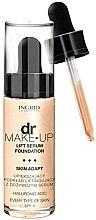 Parfums et Produits cosmétiques Fond de teint liftant à l'acide hyaluronique - Ingrid Cosmetics Lift Serum Foundation SPF8