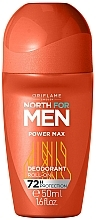 Parfums et Produits cosmétiques Déodorant roll-on - Oriflame North for Men Power Max