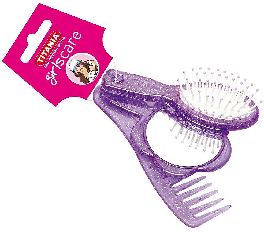 Set de coiffure pour filles, violet - Titania