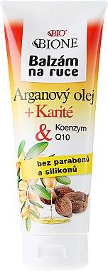 Baume à l'huile d'argan et coenzyme Q10 pour mains - Bione Cosmetics Argan Oil Hand Ointment