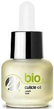 Parfums et Produits cosmétiques Huile bio pour cuticules Pêche - Silcare Bio Line Oil Peach