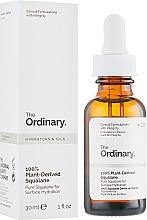 Parfums et Produits cosmétiques Huile de squalane 100% naturelle pour visage - The Ordinary 100% Plant-Derived Squalane
