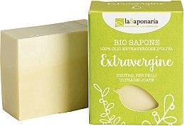 Parfums et Produits cosmétiques Savon neutre à l'huile d'olive extra vierge, peau ultra-délicate - La Saponaria Bio Sapone