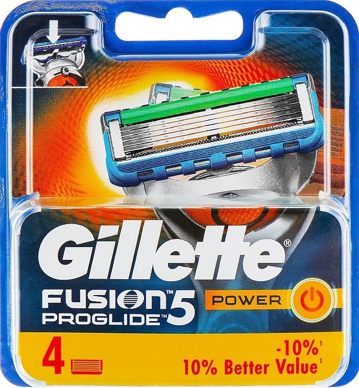 Lames de rechange, 4pcs - Gillette Fusion ProGlide Power