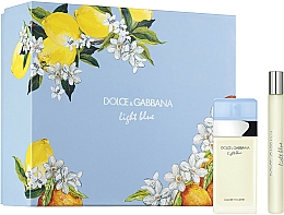 Parfums et Produits cosmétiques Dolce&Gabbana Light Blue - Coffret (eau de toilette/25ml + eau de toilette/10ml)