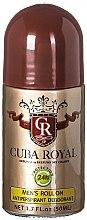 Parfums et Produits cosmétiques Cuba Royal - Déodorant roll-on anti-transpirant