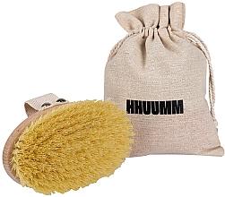 Parfums et Produits cosmétiques Brosse de massage en fibre de tampico pour corps - Hhuumm № 1