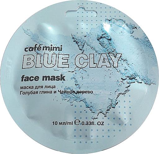 Masque à l'argile bleu pour visage - Cafe Mimi Blue Clay Face Mask