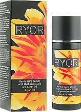 Parfums et Produits cosmétiques Sérum à l'huile d'argan pour visage - Ryor Revitalizing Serum With Hyaluronic Acid And Argan Oil