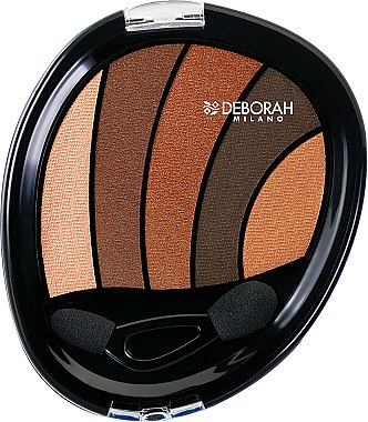 Palette de fards à paupières - Deborah Perfect Smokey Eye Palette — Photo N1