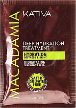 Parfums et Produits cosmétiques Masque à l'huile de macadamia pour cheveux - Kativa Macadamia Deep Hydrating Treatment