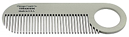 Parfums et Produits cosmétiques Peigne en titane, No.2 - Chicago Comb Co Model No.2 Titanium