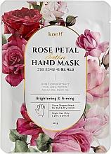 Parfums et Produits cosmétiques Masque raffermissant pour mains - Petitfee&Koelf Rose Petal Satin Hand Mask