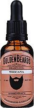 Parfums et Produits cosmétiques Huile à l'huile de gingembre pour barbe, Toscana - Golden Beards Beard Oil